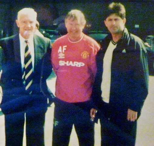 Bill Foulkes, Sir Alex Ferguson, Boro Sucevic